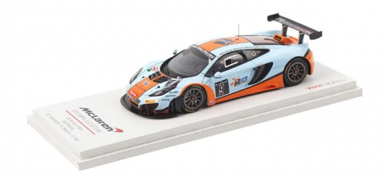 McLaren MP4-12C GT3 Gulf Racing #9 24hr of Spa 1:43rd