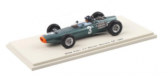 Graham Hill BRM P261 Monaco GP #3 Spark 1:43rd