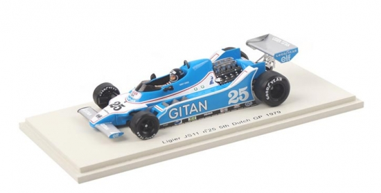 Jacky Ickx Ligier JS11 Dutch GP #25 Spark 1:43rd
