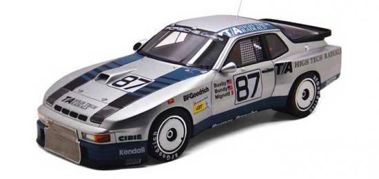 1:18th Porsche 924 GTR #87 Le Mans