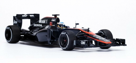 Fernando Alonso McLaren Honda 1:18th 2015