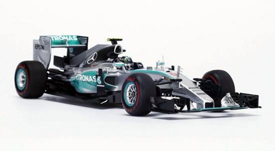 Nico Rosberg Mercedes AMG W06 F1 1:18th
