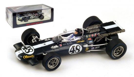 1:43rd Dan Gurney Eagle MK4 Riverside 1968