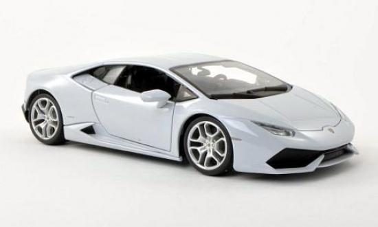 Lamborghini Huracan LP640-4 Silver BBurago 1:18th