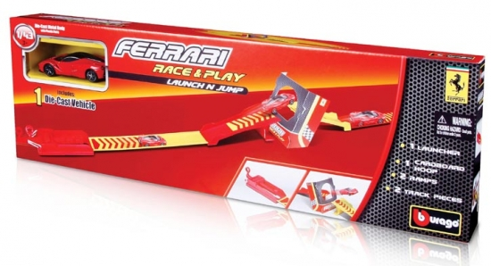 Ferrari Race and Play Launch Set 1:43rd Bburago
