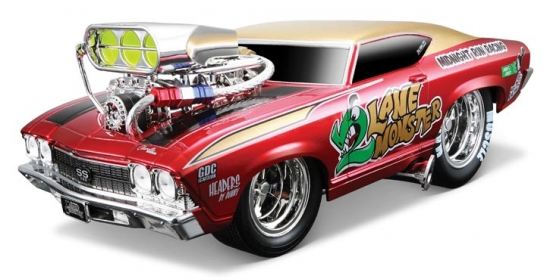 1969 Chevy Chevelle Hard Top w/Engine Blower 1:18th