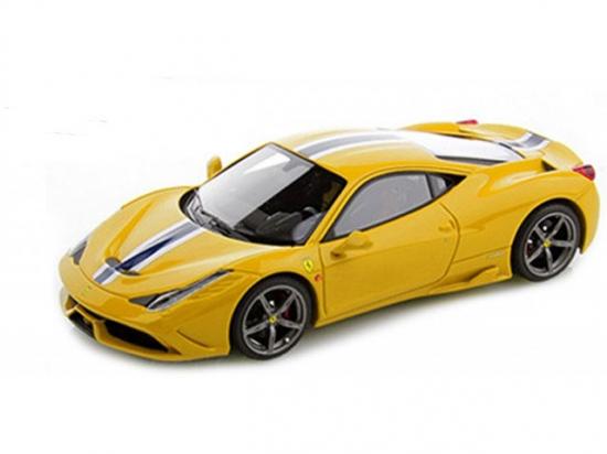 Ferrari 458 Speciale Yellow Bburago 1:18th