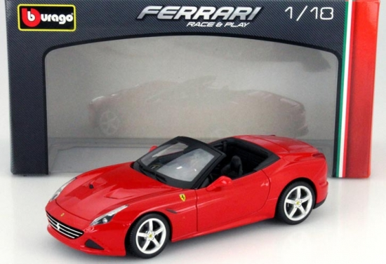 Ferrari California T Red Bburago 1:18th