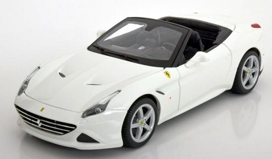 Ferrari California T White Bburago 1:18th
