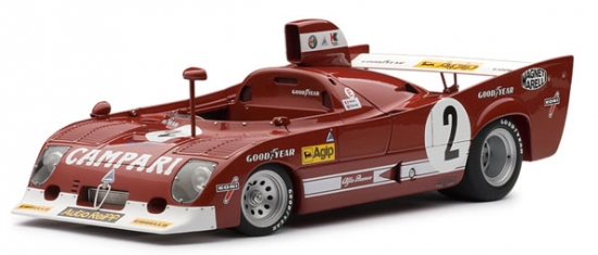 Alfa Romeo 33 TT 12 Monza Winner 1975 Autoart 1:18th Model