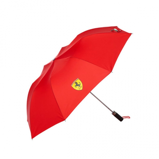 Ferrari Red Shield Golf Umbrella