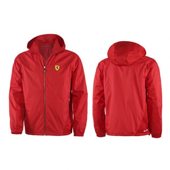 Ferrari Red Shield Windbreaker Jacket