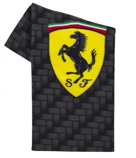 Ferrari Carbon Shield Fleece Blanket