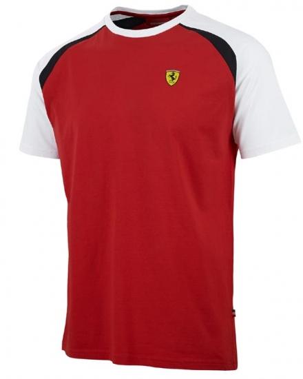 Ferrari Red Shield Race Tee Shirt
