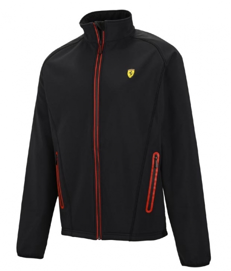 Ferrari Black Softshell Jacket