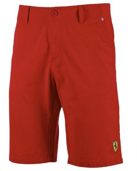 Ferrari Red Classic Race Shorts