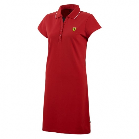 Ferrari Red Ladies Race Dress