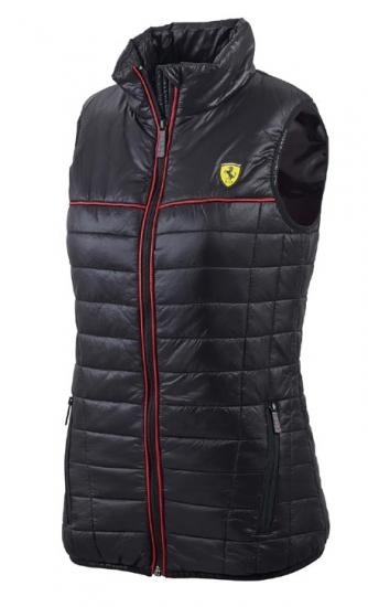 Ferrari Ladies Black Padded Vest