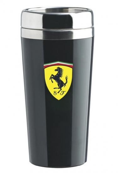 Ferrari Black Travel Mug