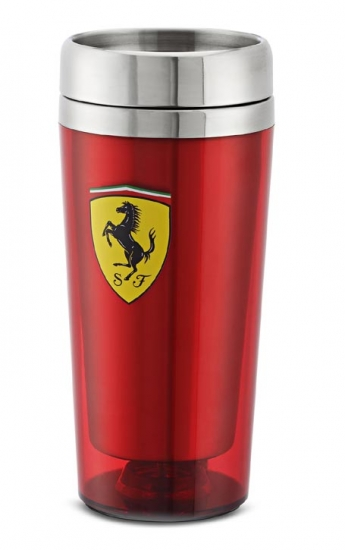 Ferrari Red Travel Mug