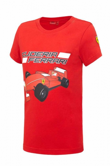 Ferrari Kids Red Car Tee