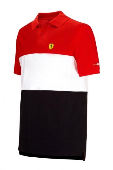 Ferrari Red Race Polo Shirt
