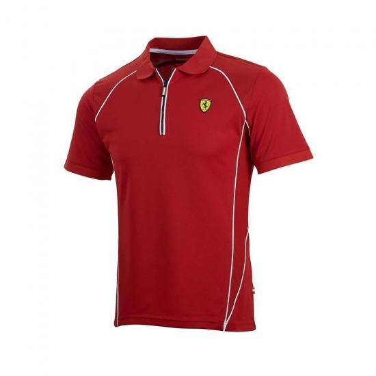 Ferrari Red Performance Polo Shirt