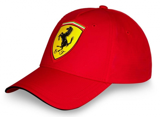 Ferrari Red Carbon Shield Hat
