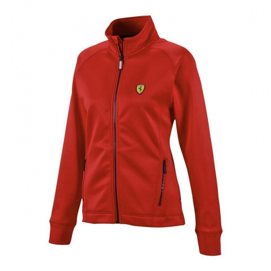Ferrari Ladies Red Track Jacket