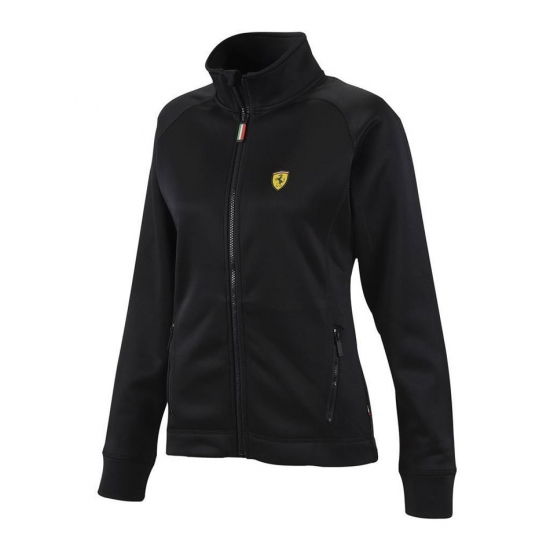 Ferrari Ladies Black Track Jacket