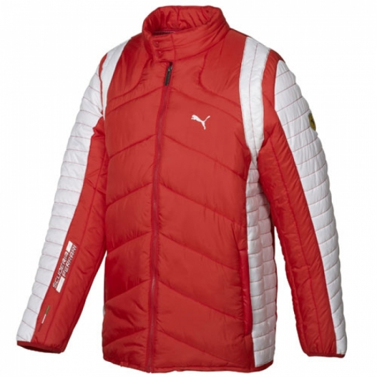 Puma Ferrari Red SF Team Padded Jacket