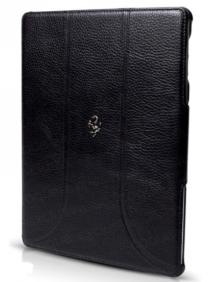 Ferrari iPad 3 FF Black Leather Case