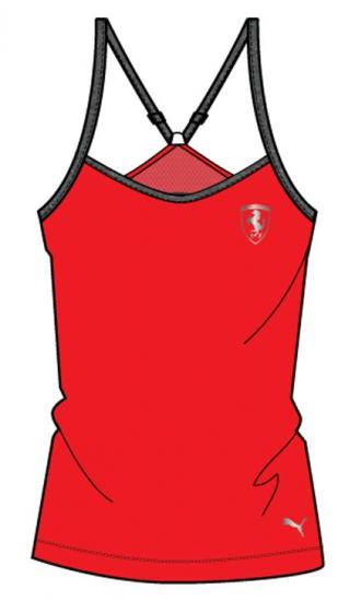 Puma Ferrari Ladies Red Tank Top