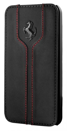 Ferrari Monte Carlo 5/5S Book Style Black Leather Hard Case