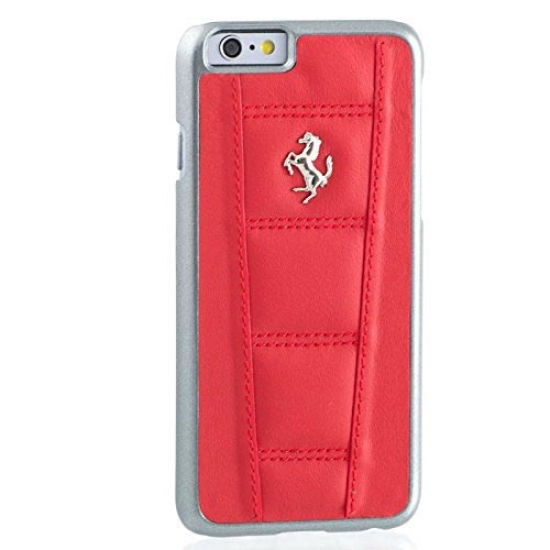 Ferrari 458 iPhone 6/6S Red Leather Case