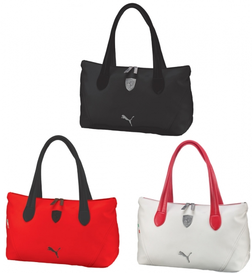 Ferrari Ladies LS Leather Puma Handbag