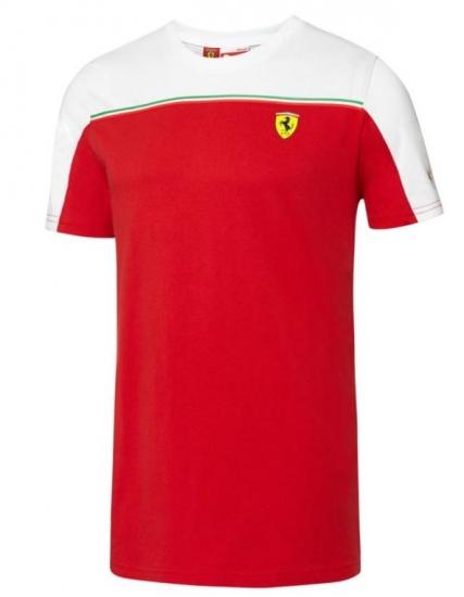 Puma Ferrari Red SF Tee