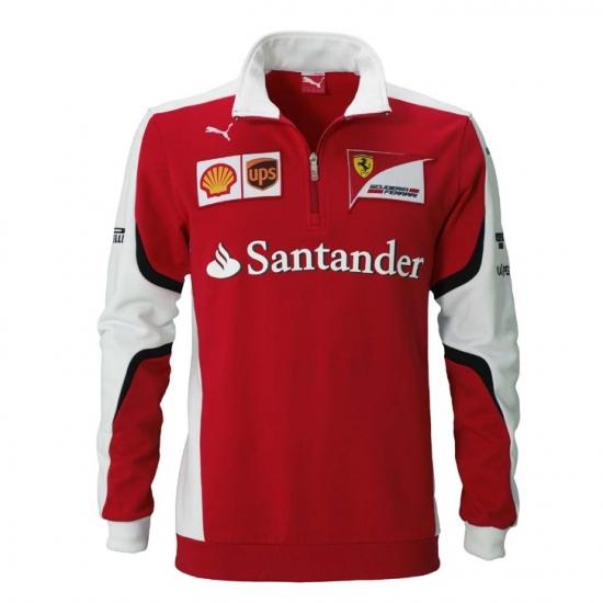 Scuderia Ferrari Team Zip Sweatshirt 2015