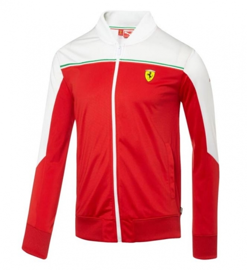 Puma Ferrari Red SF Track Jacket