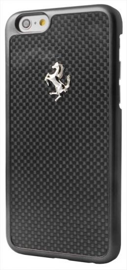 Ferrari iPhone 6/6S GT Carbon Fiber Black Case