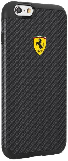 Ferrari iPhone 6/6S Plus Shockproof Carbon Fiber Case