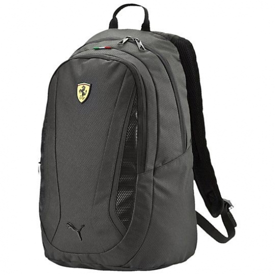 Puma Ferrari Black Replica Team Backpack