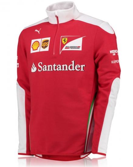 Scuderia Ferrari Team Zip Fleece 2016