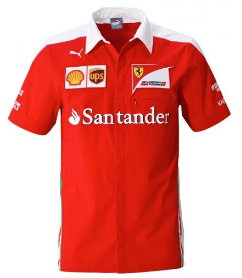 Scuderia Ferrari Team Crew Shirt 2016