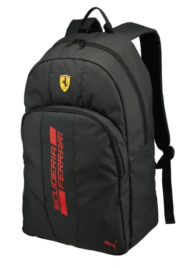 Puma Ferrari Black Fanwear Backpack