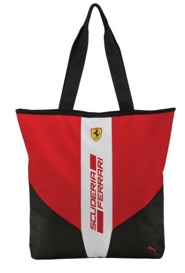 Puma Ferrari Red Fanwear Shopper Bag