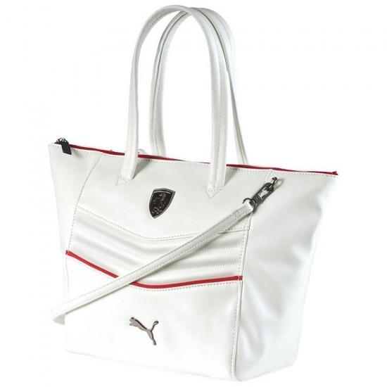 Puma Ferrari White LS Handbag