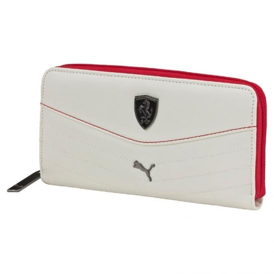 Puma Ferrari White LS Ladies Wallet