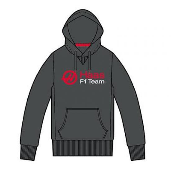 Haas F1 Logo Hooded Sweatshirt