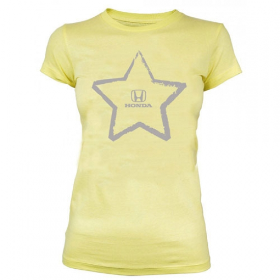 Honda Ladies Yellow Star Tee Shirt